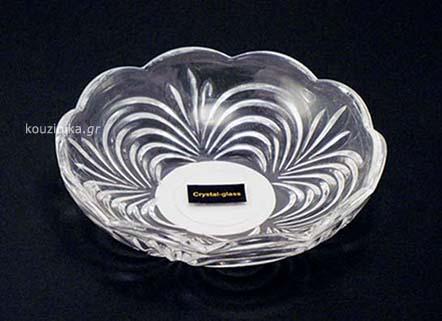 Πιατάκια γλυκού crystal glass