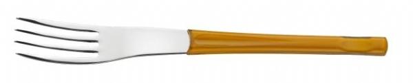 Μαχαιροπίρουνα πορτοκαλί λαβή σετ 24 τεμ. Movie orange