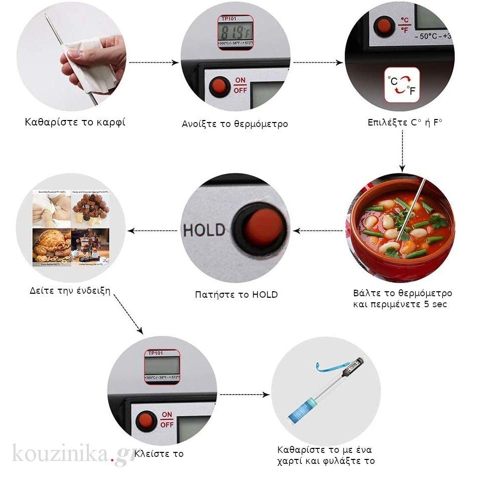 Ηλεκτρονικό θερμόμετρο καρφί