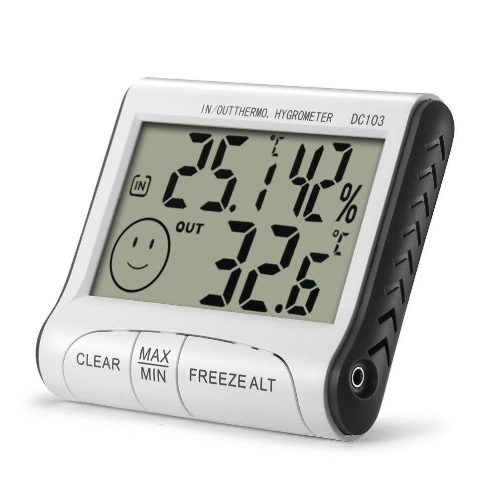 Θερμόμετρο και υγρόμετρο ψηφιακό