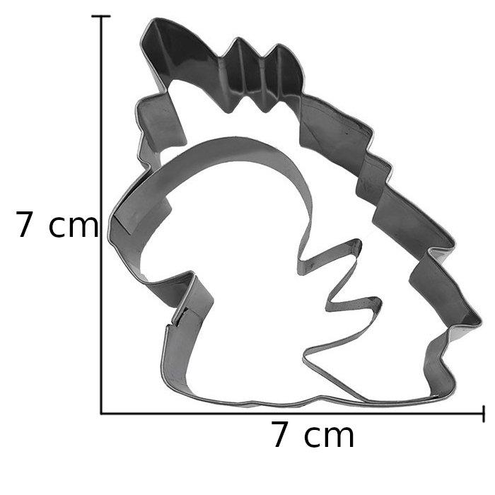 Κουπάτ ανοξείδωτο κεφάλι μονόκερου