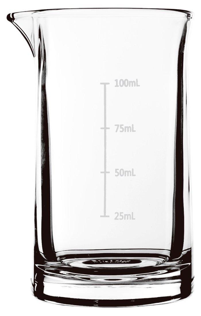 Γυάλινος δοσομετρητής-σωλήνας 100ml