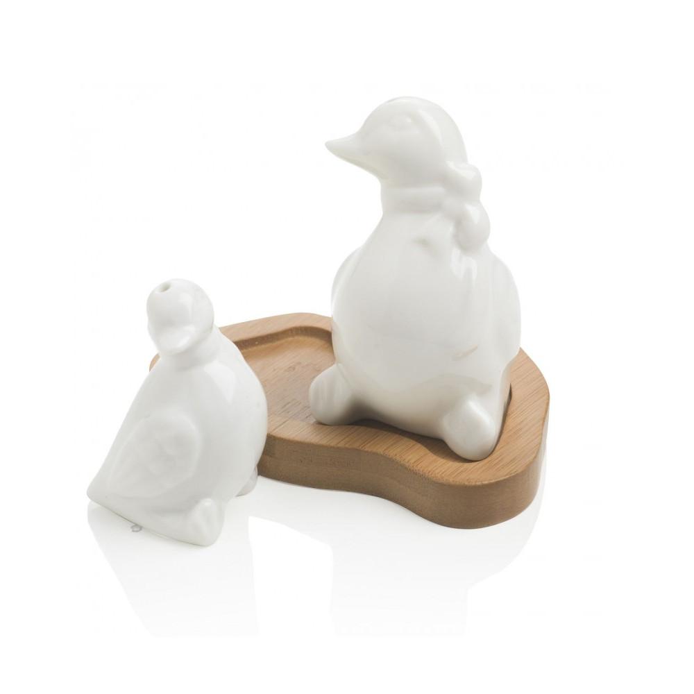 Αλατοπίπερο με βάση μπαμπού Ducks Brandani