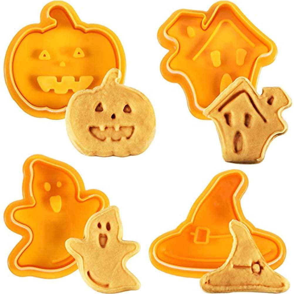Σετ 4 κουπάτ με έμβολο Halloween
