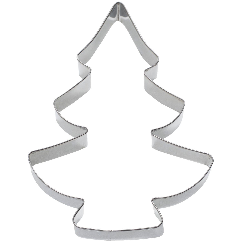Κουπάτ ανοξείδωτο χριστουγεννιάτικο δέντρο 12cm Νο 3516