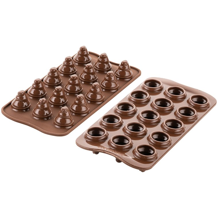 Φόρμα σιλικόνης για σοκολατάκια Choco trees SC0G54