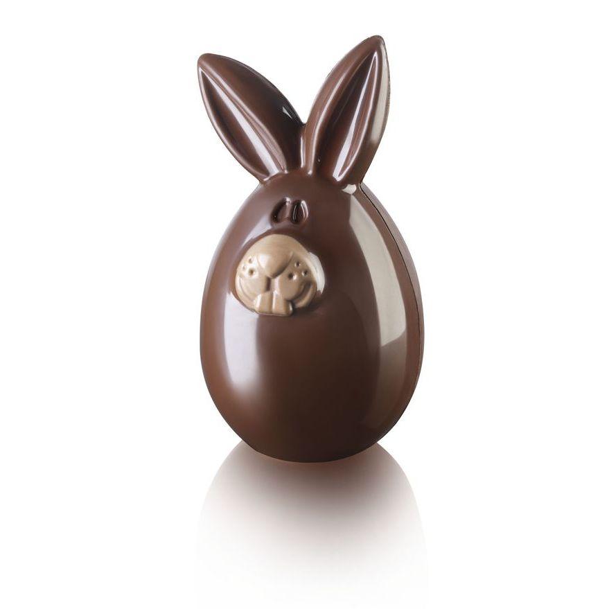 Φόρμα αυγού πλαστική 2 τεμ Silikomart Lucky Bunny