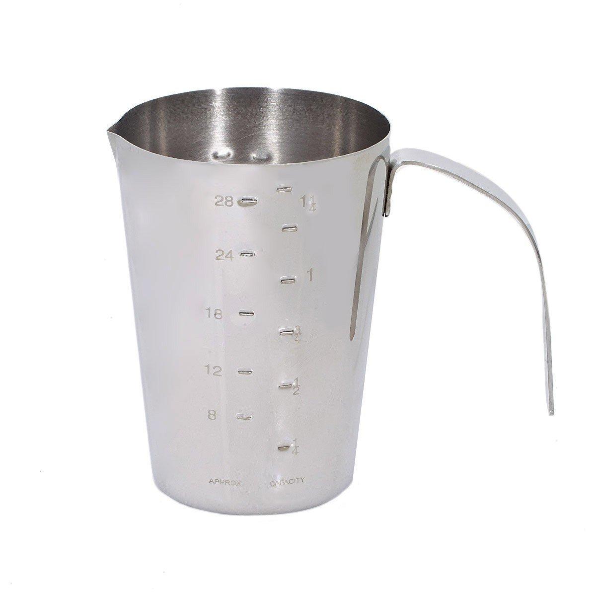 Μεζούρα ζαχαροπλαστικής ανοξείδωτη 700 ml