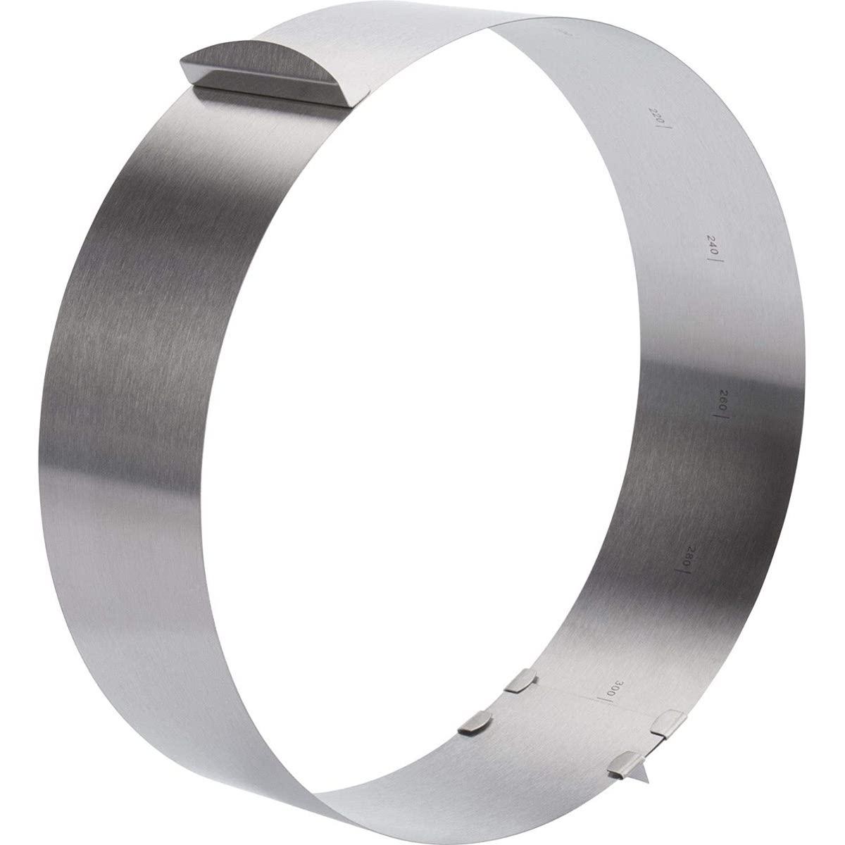 Στεφάνι ανοξείδωτο ρυθμιζόμενο 16-30 cm Νο 3131