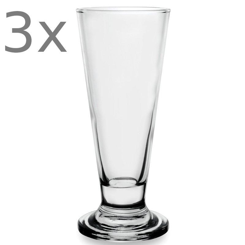 Σετ 3 ποτήρια για freddo-μπύρα VAN