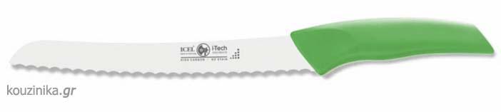Μαχαίρι άρτου i-Tech 20 εκ. πράσινη λαβή