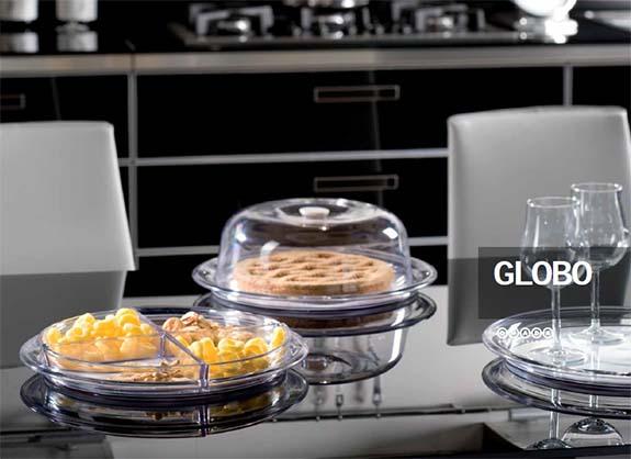 Τουρτιέρα πλαστική στρογγυλή Globo