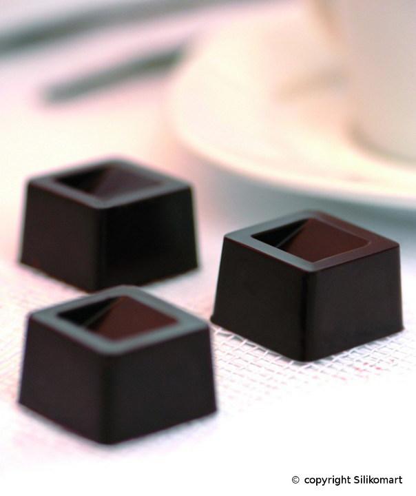 Φόρμα σιλικόνης για σοκολατάκια