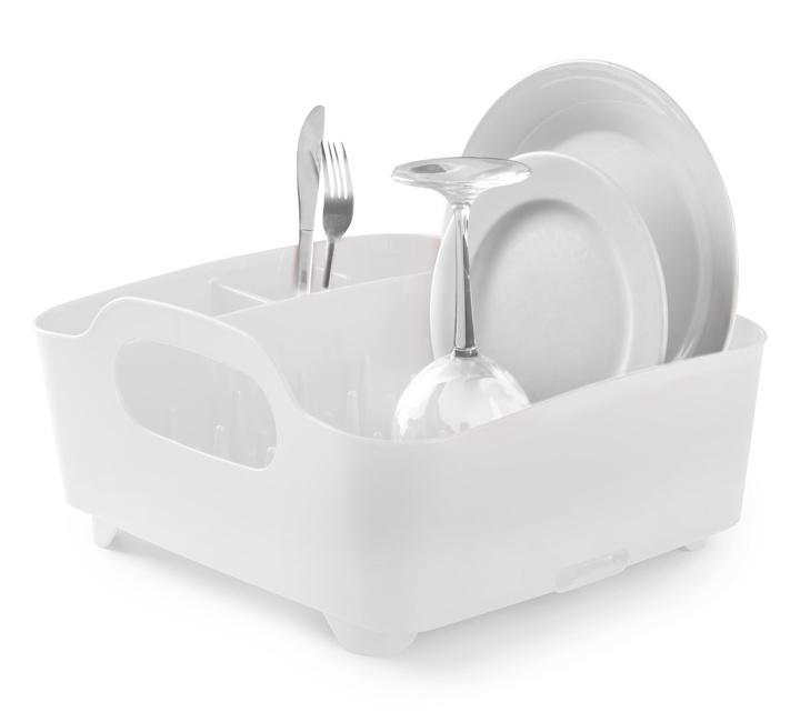 Πιατοθήκη πλαστική TUB λευκή
