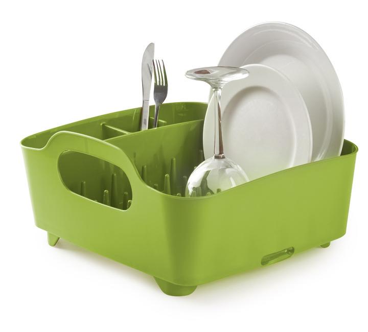Πιατοθήκη πλαστική TUB πράσινη