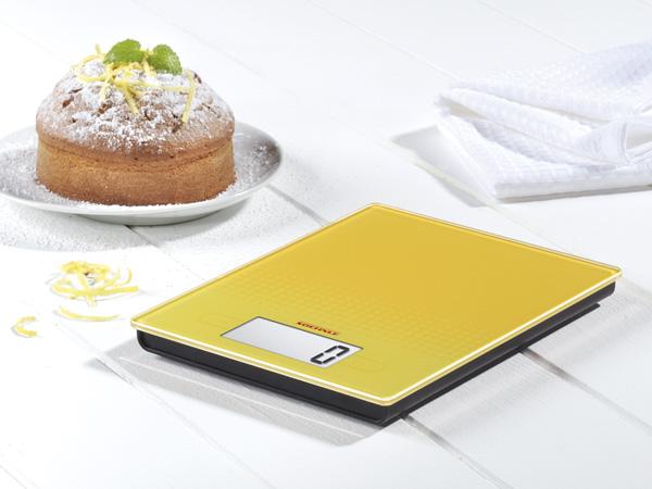 Ψηφιακή ζυγαριά κουζίνας 5kg City κίτρινη