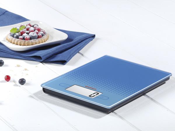 Ψηφιακή ζυγαριά κουζίνας 5kg City μπλε