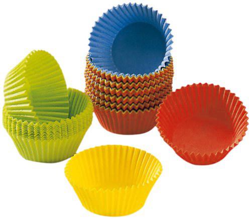 Φορμάκια χάρτινα χρωματιστά για muffin