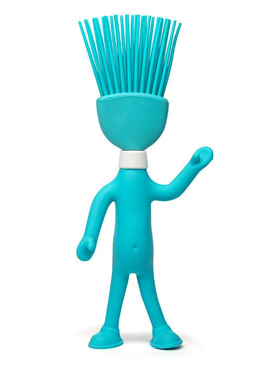 Head Chefs γαλάζιο πινέλο σιλικόνης