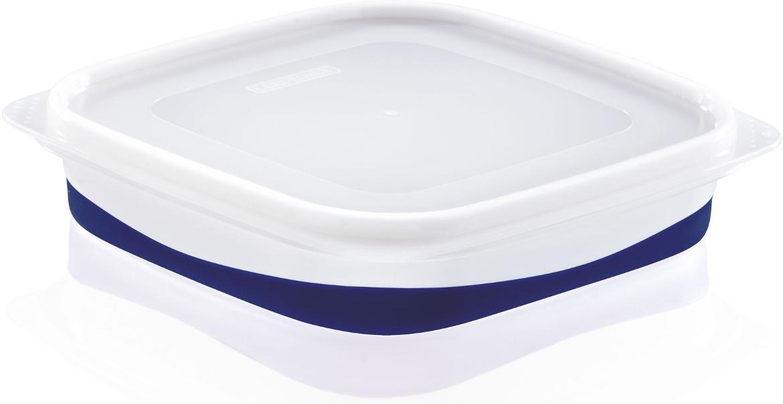 Δοχείο τροφίμων τετράγωνο Leifheit Fresh&Slim 1L