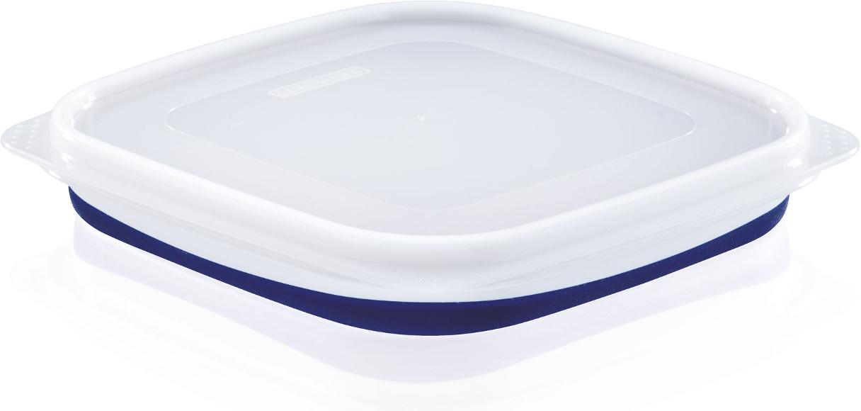 Δοχείο τροφίμων τετράγωνο Leifheit Fresh&Slim 0,75L