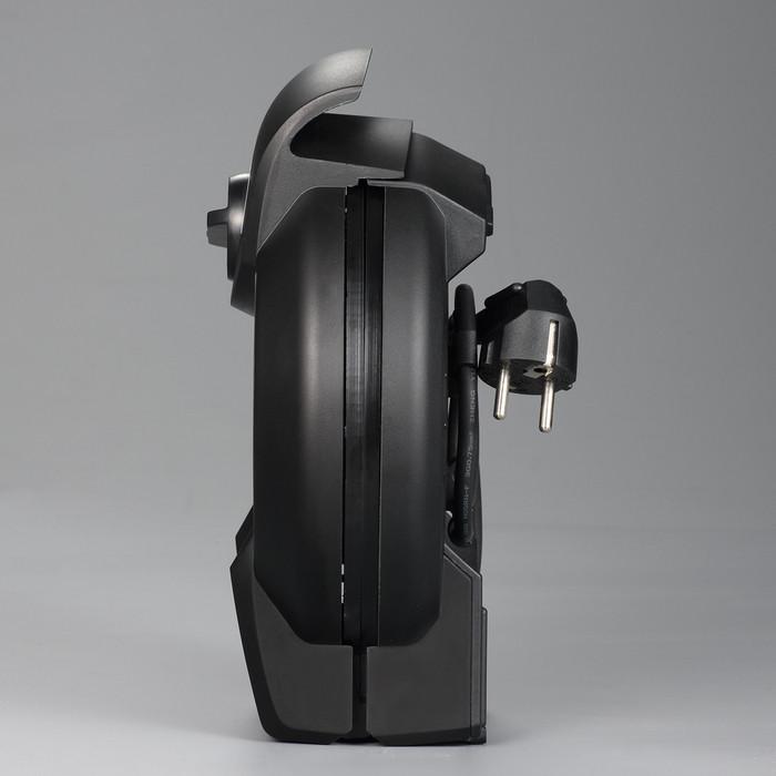 Βαφλιέρα ΙΝΟΧ & μαύρη 1300W