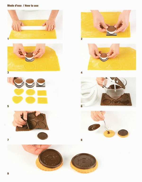 Κιτ για μπισκότα Silikomart