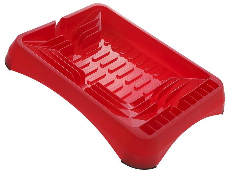 Πιατοθήκη πλαστική κόκκινη