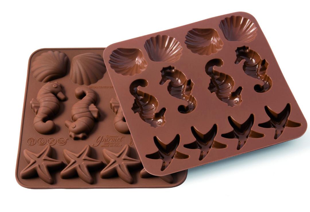Φόρμα σιλικόνης για σοκολατάκια Sealife