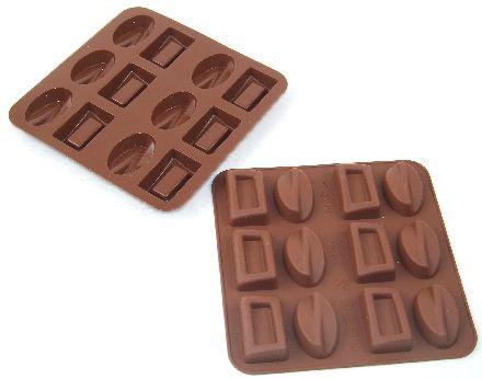 Φόρμα σιλικόνης για σοκολατάκια Coffee