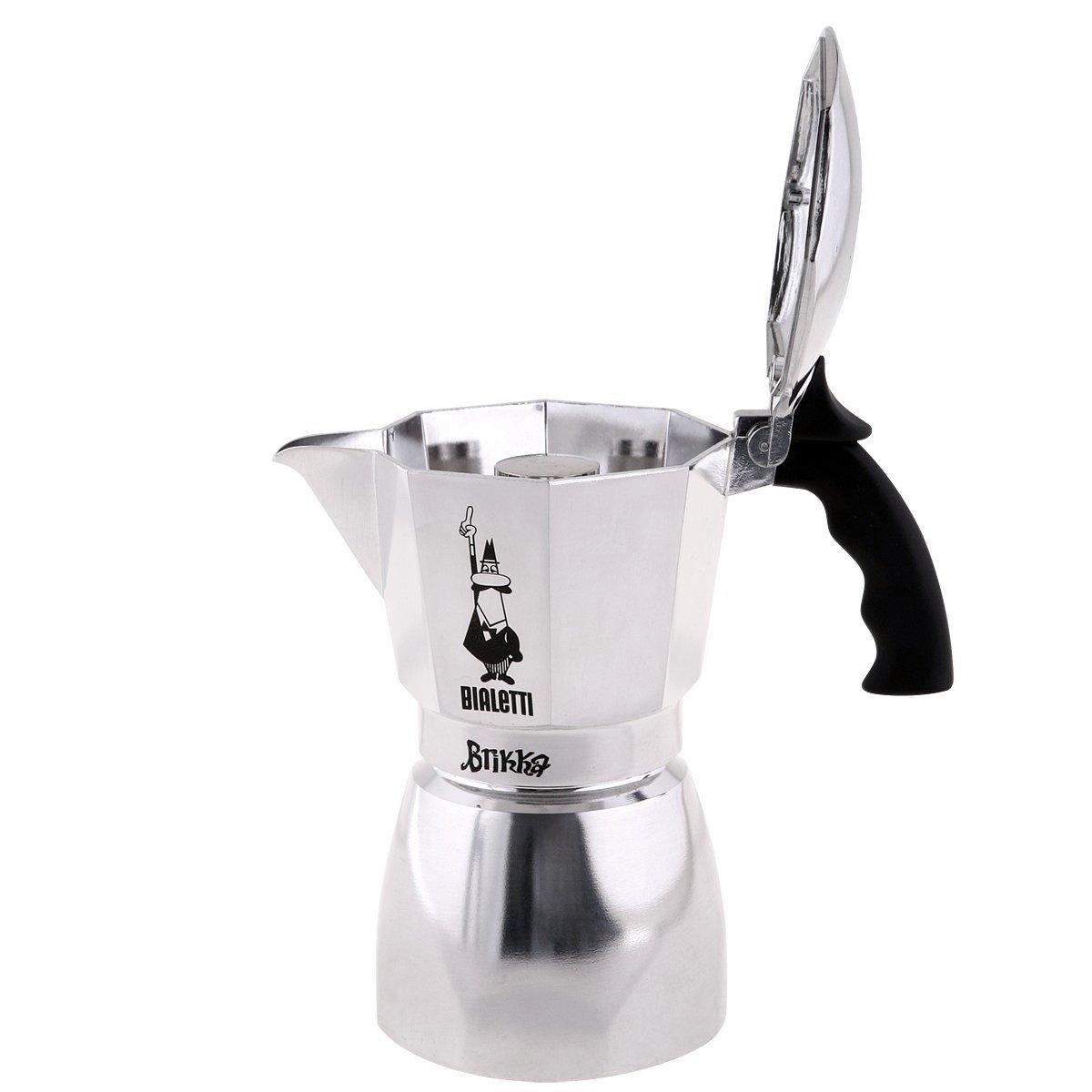 Καφετιέρα espresso Bialetti Brikka Elite 4 tz