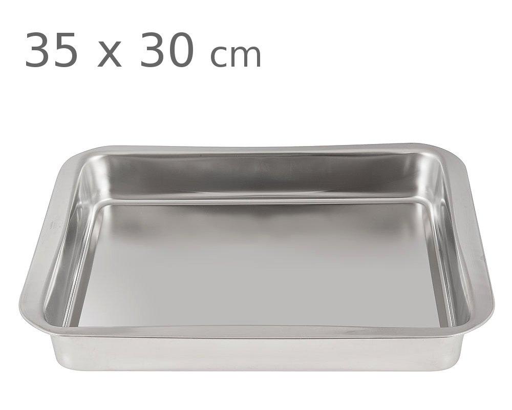 Ταψί ανοξείδωτο 18/10 PAL 35 x 30 cm