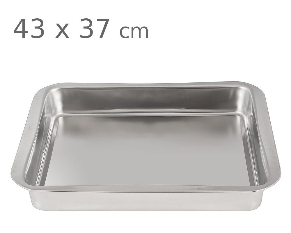 Ταψί ανοξείδωτο 18/10 PAL 43 x 37 cm