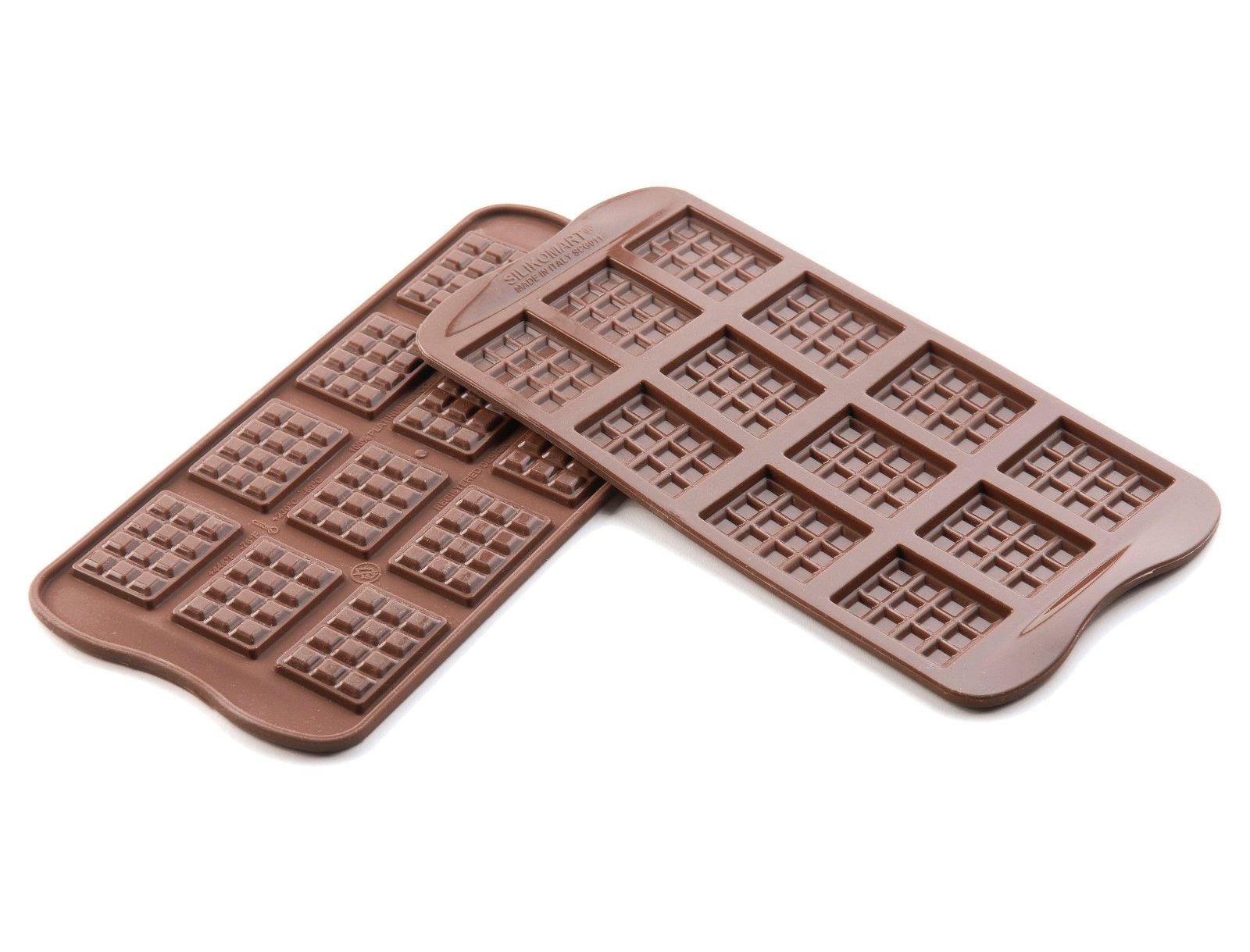 Φόρμα σιλικόνης για σοκολατάκια Tablette SCG11