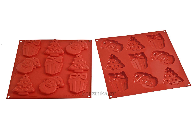 Φόρμα σιλικόνης My Christmas Cookies Silikomart HSH 02-A