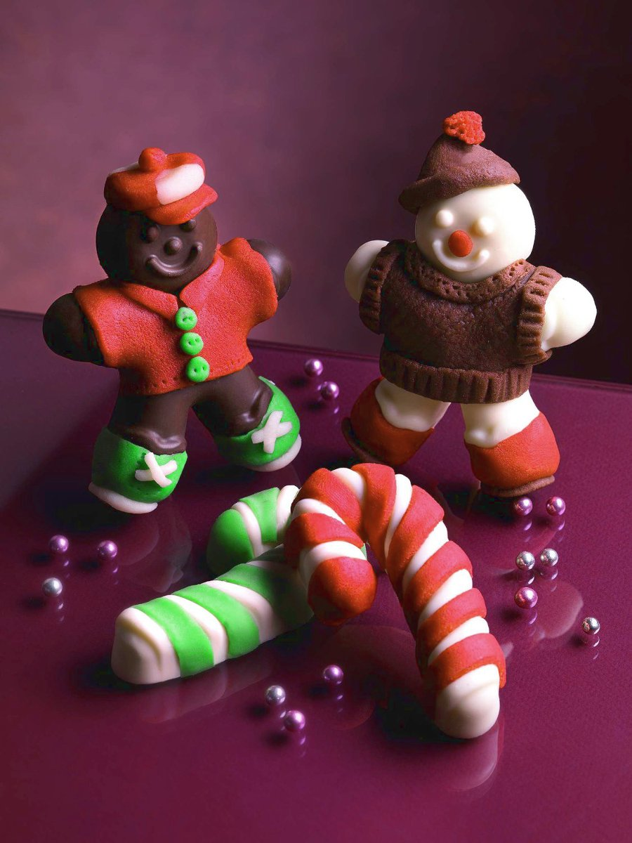 Φόρμα σιλικόνης Gingerbread Man SF106