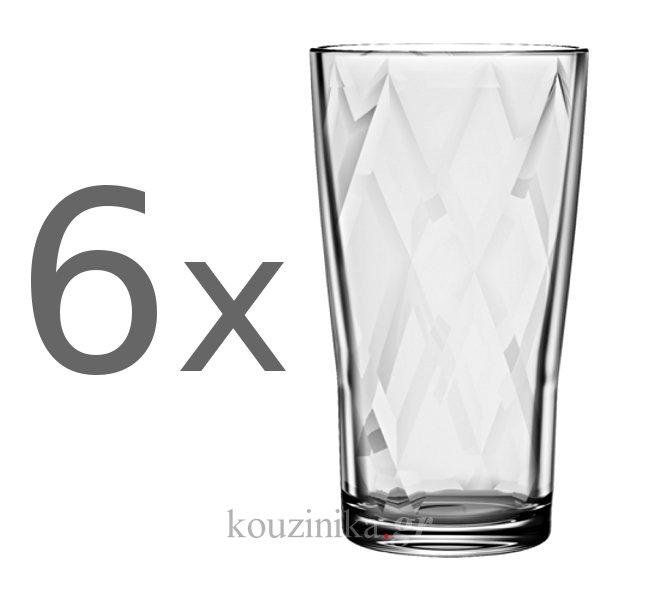 Ποτήρια σωλήνα Tobruk 36 cl σετ 6 τεμ.