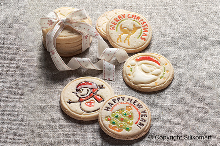 Wonder Cakes κουπάτ για μπισκότα Xmas Stamp