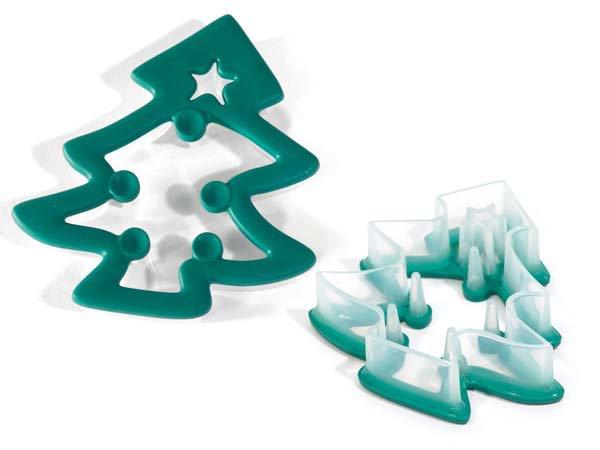 Κουπάτ πλαστικό Christmas Tree Silikomart ACC075