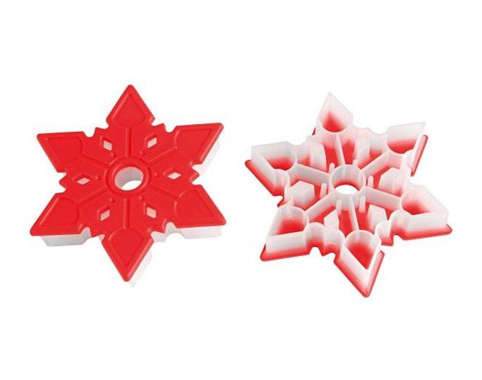 Κουπάτ πλαστικό Snowflake Silikomart ACC098