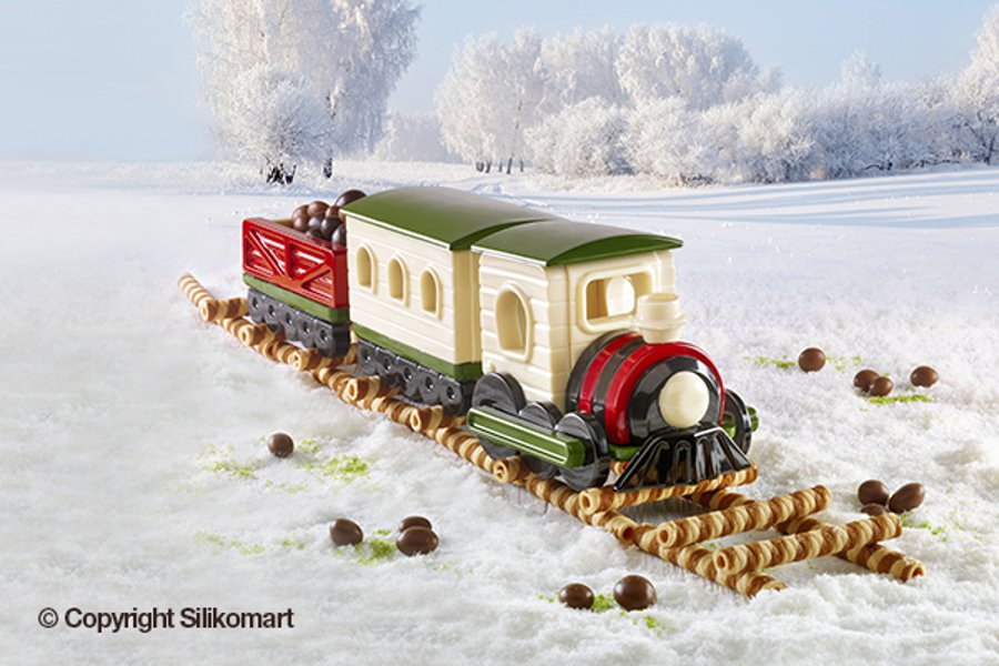 Φόρμα σιλικόνης Magic Train Silikomart HSH08