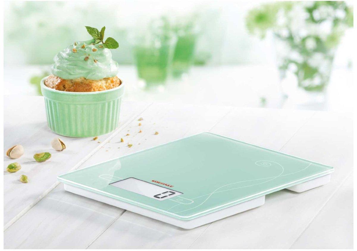 Ψηφιακή ζυγαριά κουζίνας αφής Soehnle Colour Edition πράσινη