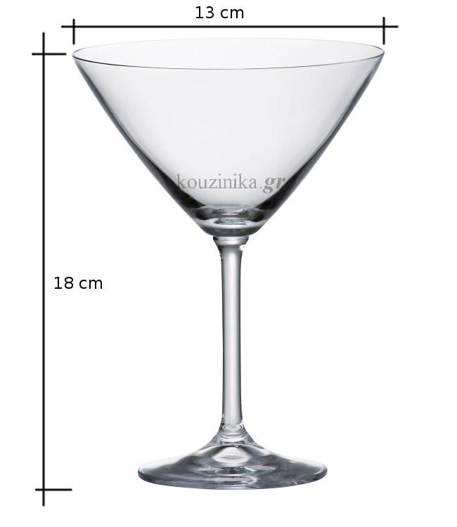 Ποτήρι μαρτίνι Bohemia Gastro 280 ml