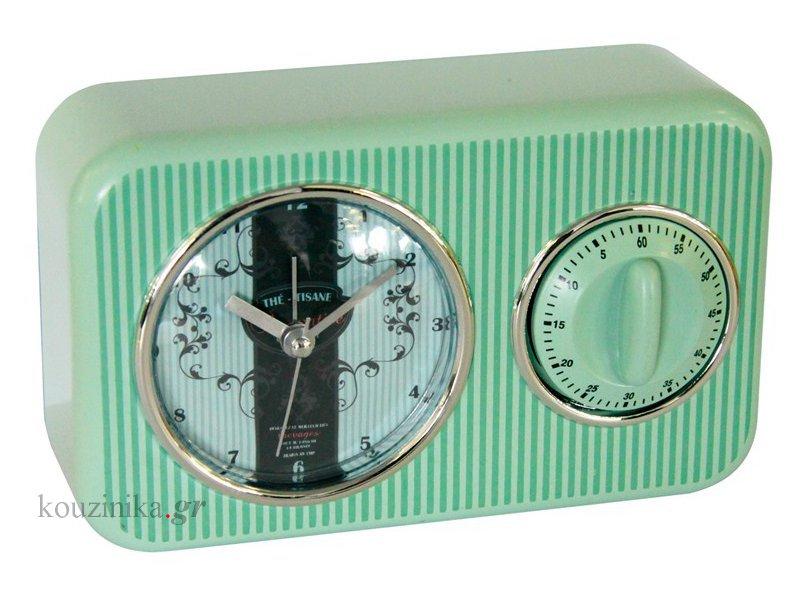 Ρολόι ξυπνητήρι και χρονόμετρο επιτραπέζιο HO2780