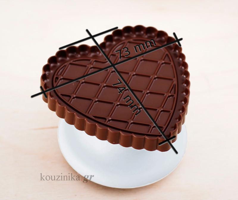 Κιτ για μπισκότα Cookie Choc Love CKC06