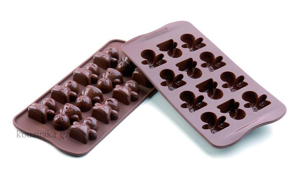 Φόρμα σιλικόνης για σοκολατάκια Mood SCG 15