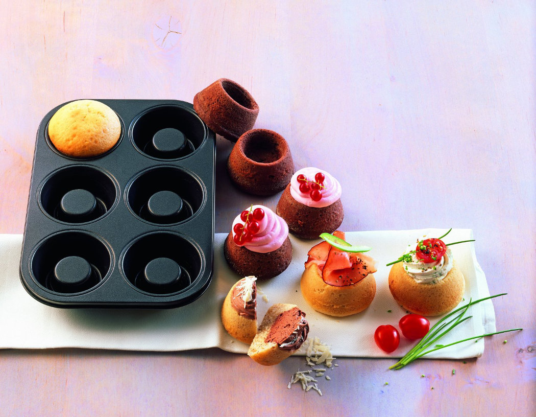 Kaiser δίσκος ψησίματος για 6 muffins