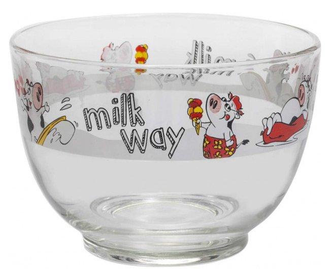 Milk way γυάλινο μπολ 690 cc