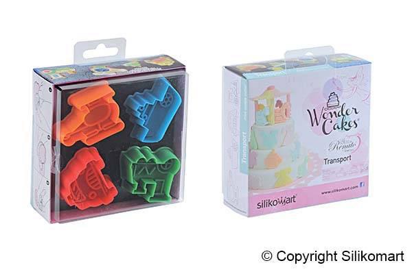 Wonder cakes μίνι κουπατ Transport ACC 102