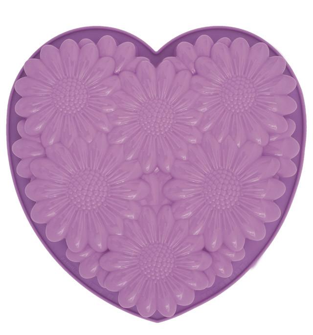 Φόρμα σιλικόνης Pavonidea Bouquet Heart FRT 163